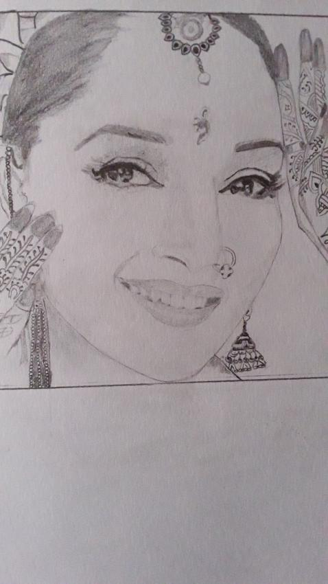 Madhuri Dixit by vineeta7